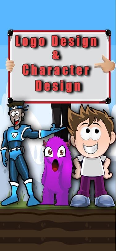 Logo,Cartoon & Animation Development